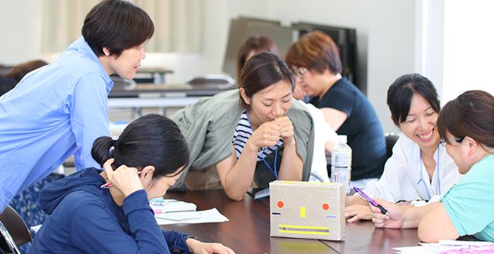 教職員の方へのコーチングセミナー 風景
